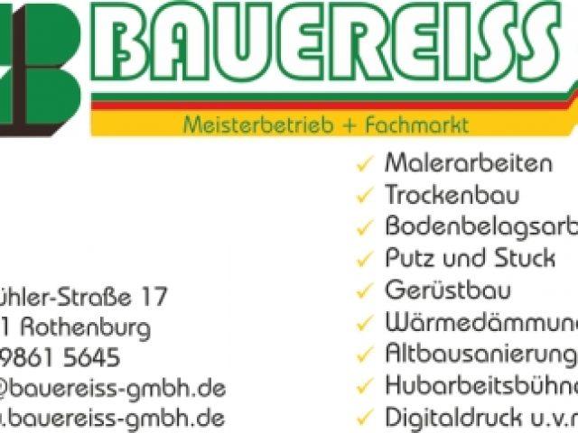 Bauereiss GmbH Malerarbeiten & Fachmarkt