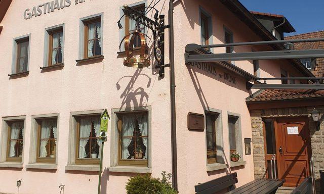"""Gasthaus """"Zur Krone"""" Fam. Uhl, Leuzenbronn"""