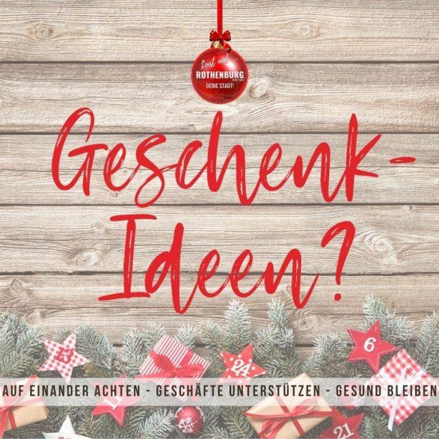 Geschenkideen aus Rothenburg?