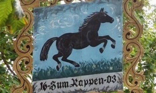 """""""Zum Rappen"""" am Würzburger Tor"""