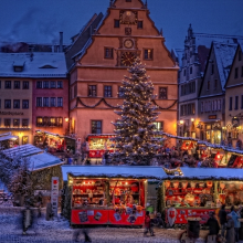 Rothenburger Reiterlesmarkt 29. Nov -23. Dez 2019