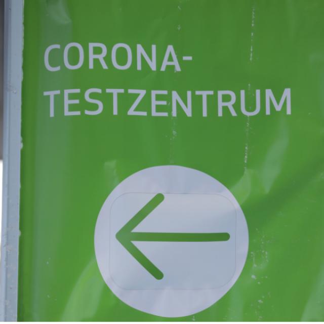 Corona-Schnelltest in Rothenburg