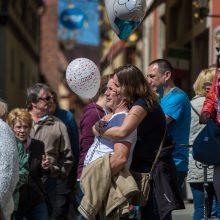 Rothenburger Stadtfest: Frühlings-Stadtmosphäre