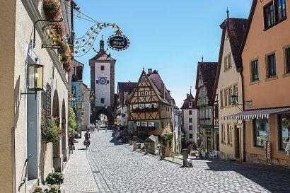 Rothenburger Einzelhandel in der Altstadt hat geöffnet